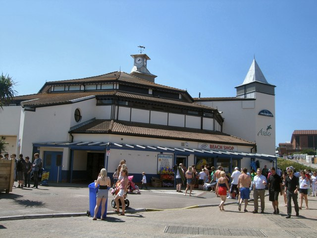 Bournemouth Pier Entrance