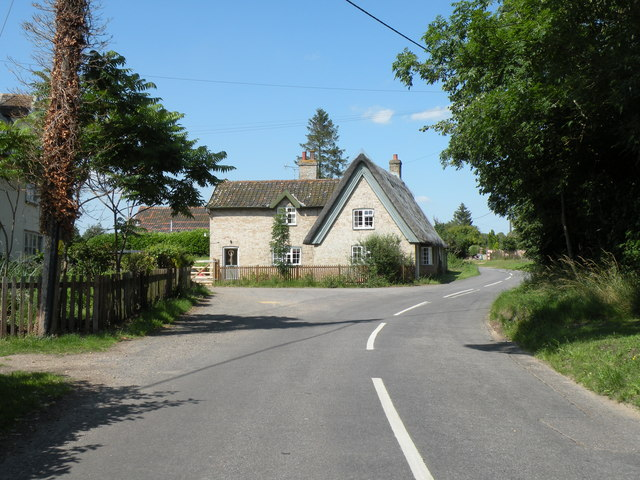 Cottages in Gasthorpe village