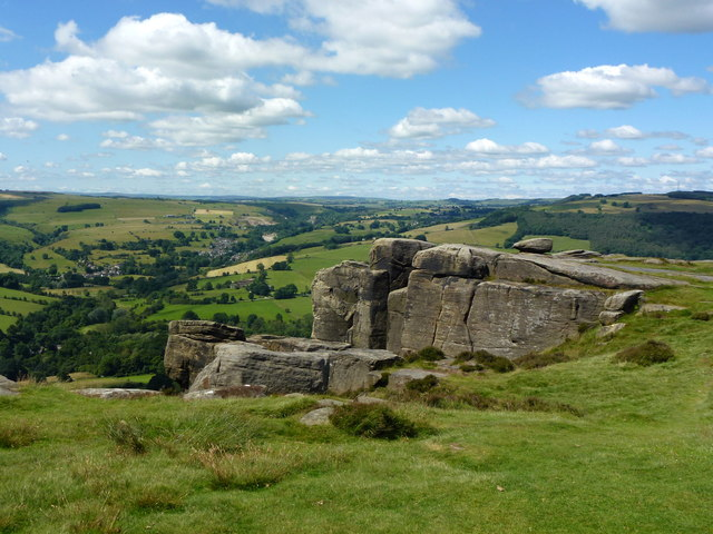 Rocks on Curbar Edge