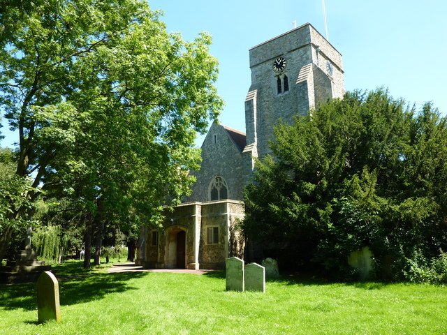 The church of All Saints, Whitstable