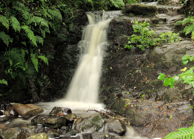 Waterfall near the Cave Hill, Belfast