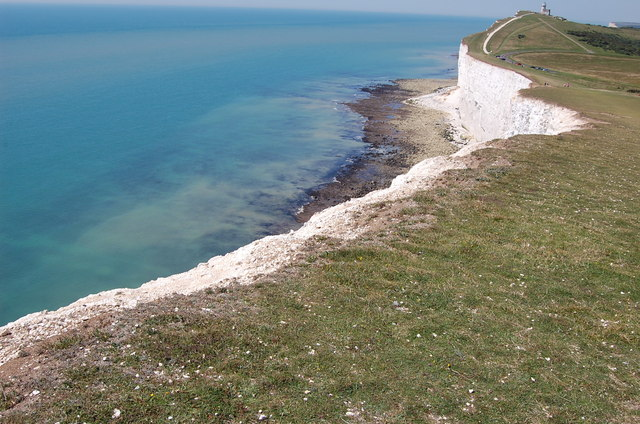 Cliff Edge near Beachy Head