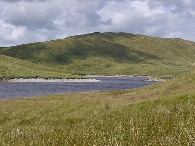 Banc Llechwedd Mawr under sun and cloud