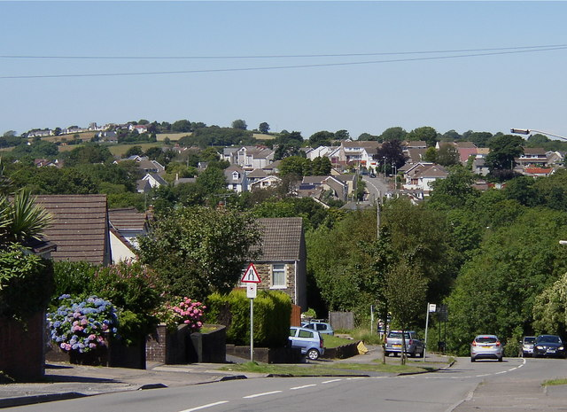 West Dunvant, from Dunvant Hill