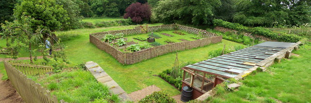 Vegetable Garden, Trerice House