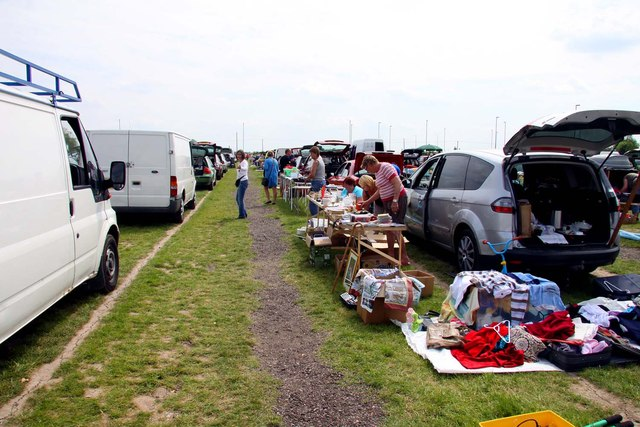 Car boot sale by Baytree Garden Centre