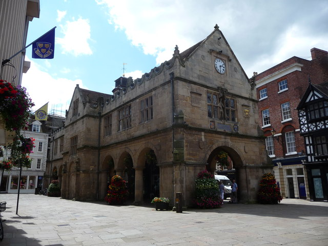 The Old Market Hall, Shrewsbury