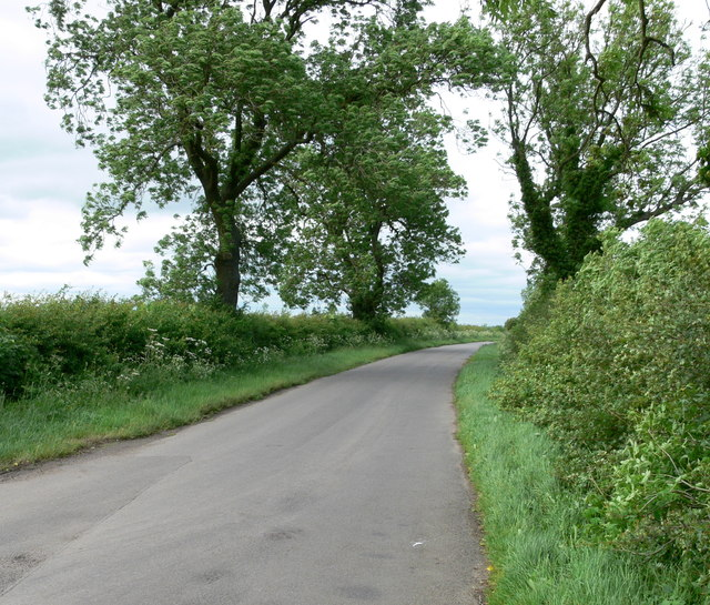 Pasture Lane North towards Kirby Bellars