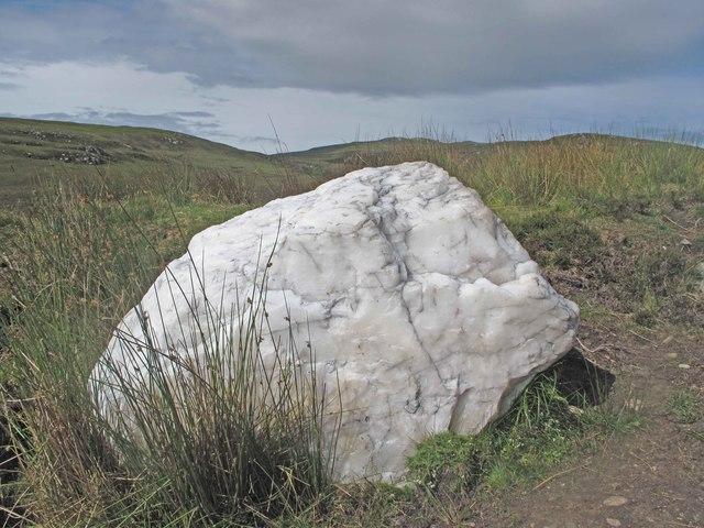 Quartzite Boulder