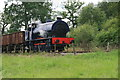 SJ9744 : Foxfield Railway - the train takes the strain by Chris Allen
