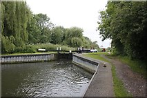 SU5066 : Entrance to Widmead Lock by Bill Nicholls