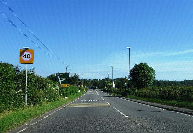 A37 northbound