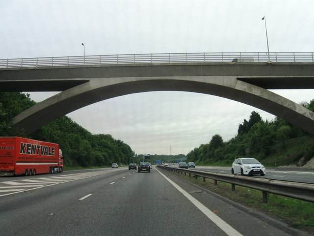 A3(M) northbound