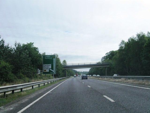 A3 northbound