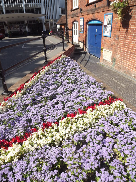 Union Flag Flowerbed