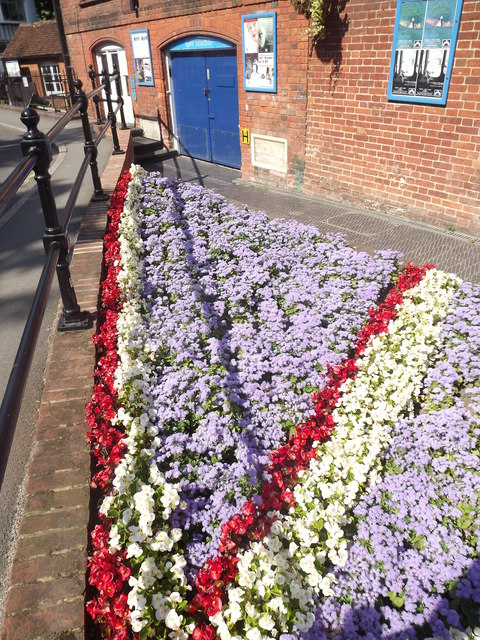 Union Flag Flowerbed, Mill Studio