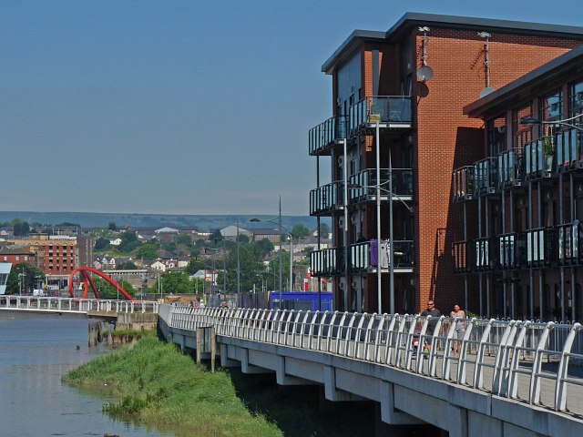 Riverside apartments, Newport