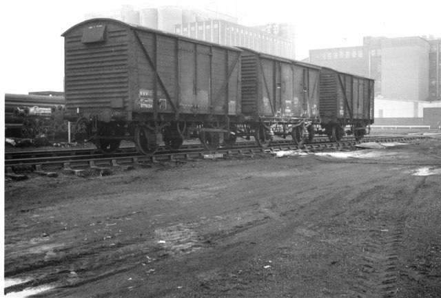 Railway wagons at Leith - 1978