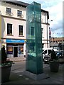 H4572 : Obelisk, Market Street, Omagh by Kenneth  Allen