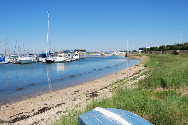 Langstone Harbour in 2012