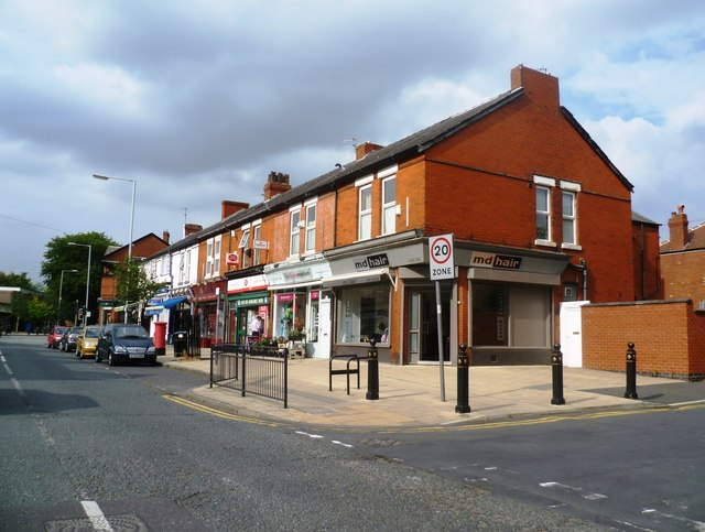 Parade of Shops - Moorside Road