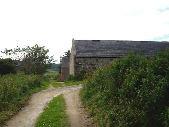 Entrance to Westside farmyard