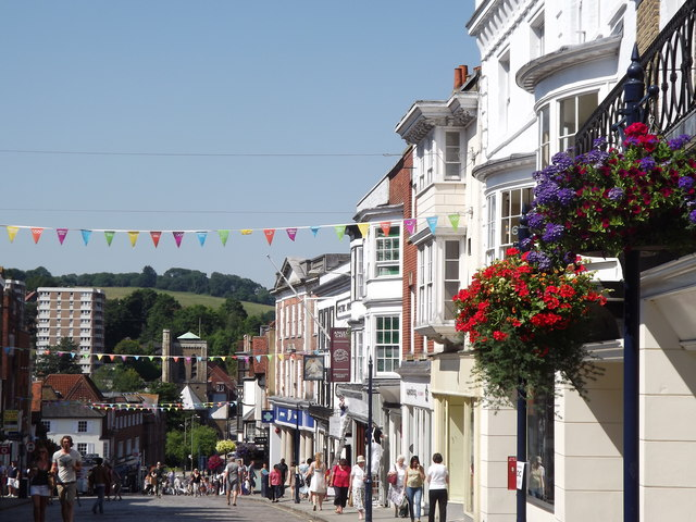 Summer in the High Street