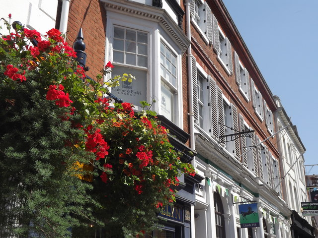 Facades of Guildford High Street