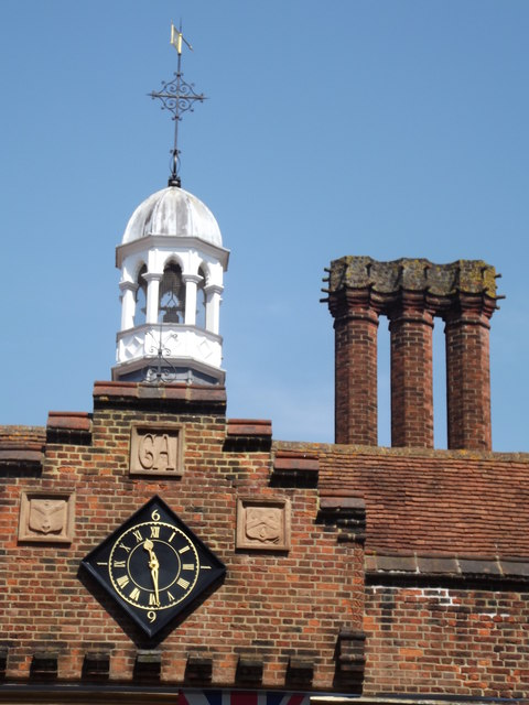 George Abbot Hospital Roofline