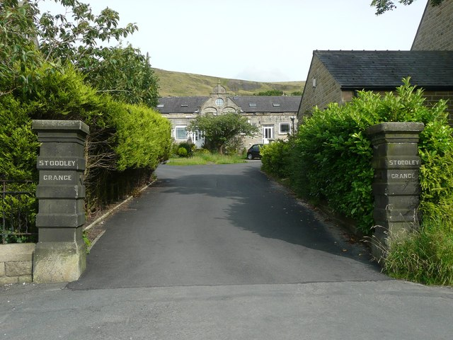 Entrance to Stoodley Grange