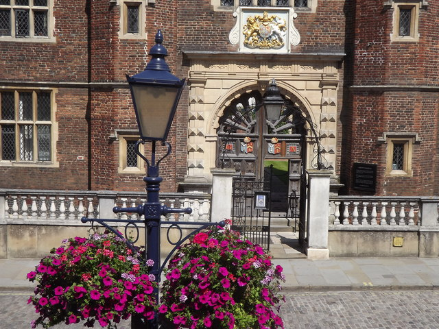 George Abbot's Hospital Gate