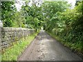 SD9624 : Footpath from Lee Bottom Road to London Road, Langfield by Humphrey Bolton