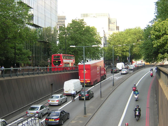 Olympic Route Network: Games Lane, Euston Underpass NW1