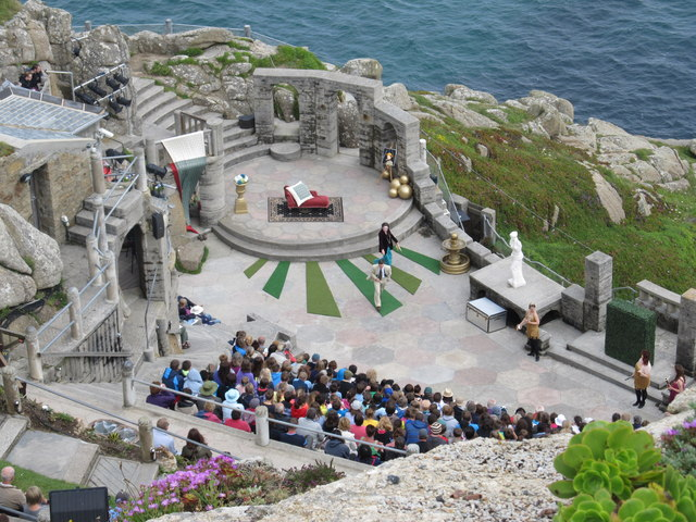 The Minack open air theatre