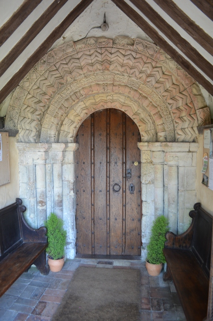 Norman Doorway - Ashby St Mary