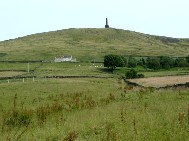 Stoodley Cottage South and Stoodley Pike