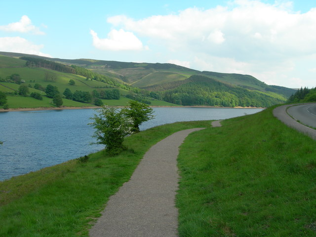 West side path, Ladybower Reservoir