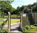 ST7598 : Entrance to Dursley Bowls Club by John Grayson
