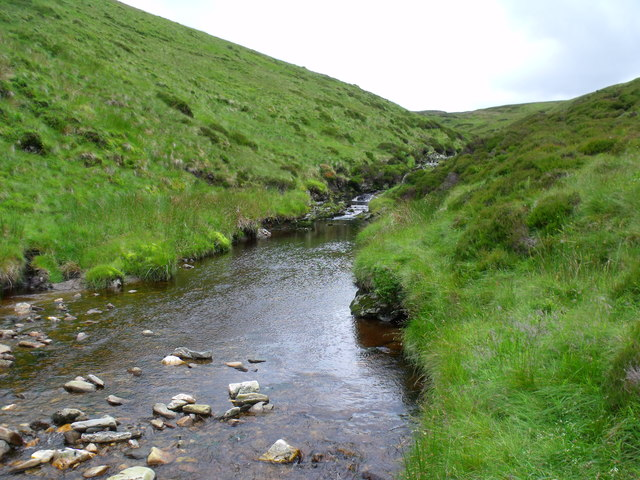  Burn of Duskintry above confluence with Burn of Adikinear near Glen Lethnot
