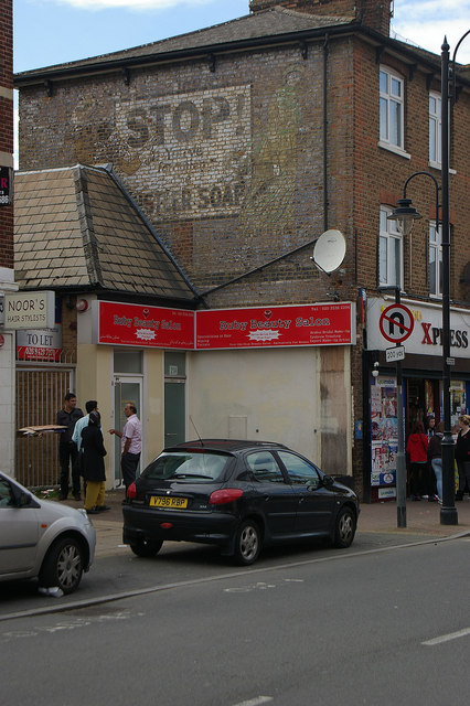 'Ghost sign', Wealdstone