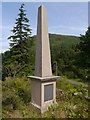 NS1485 : Younger Memorial Near Benmore Botanic Gardens by James T M Towill