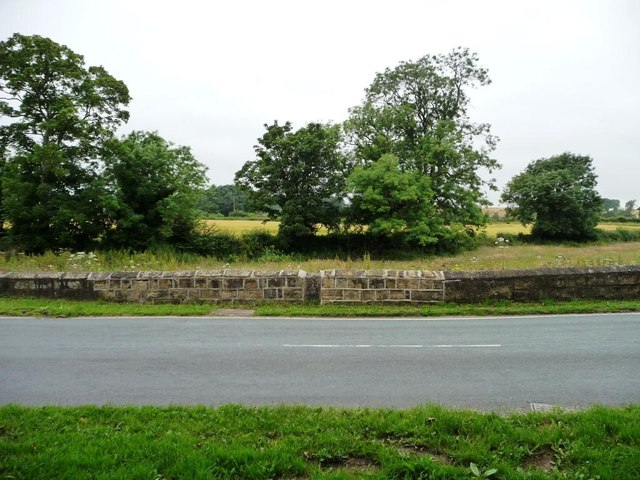 View from the bench, south of Thorner