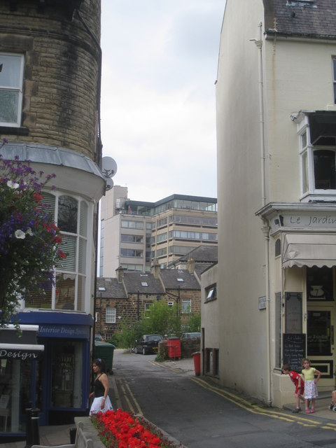 View towards Parliament Street