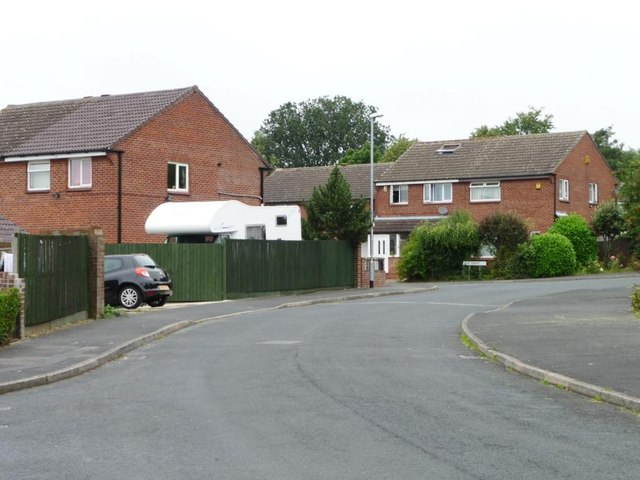 Elm Croft, off Hazel Avenue