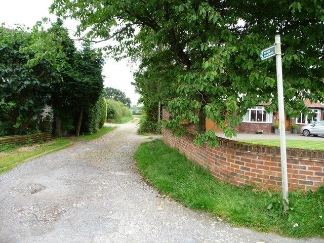 Stockheld Lane, east of Nook Road