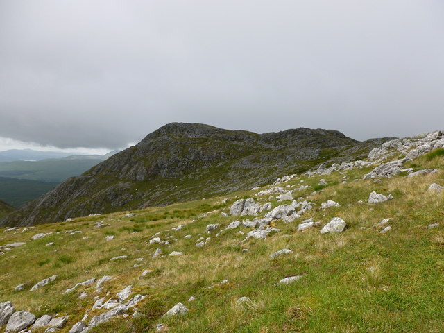 The west top of Garbh Bheinn