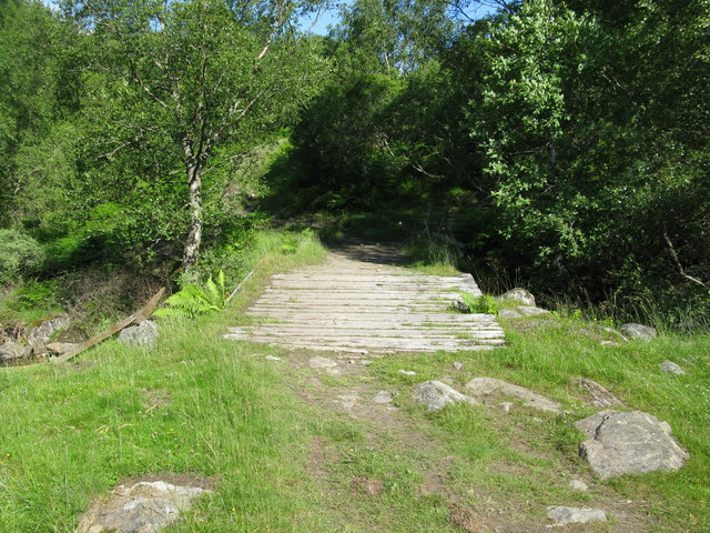 Bridge over the Allt Coire Chearcaill