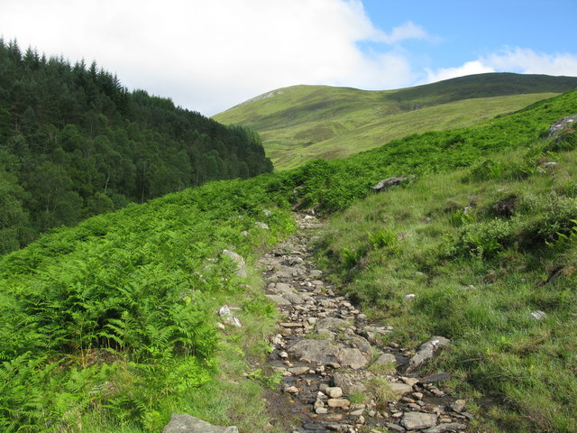 Path to Carn Gorm