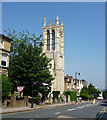 TQ3370 : Gipsy Hill:  Tower of All Saints Church by Dr Neil Clifton