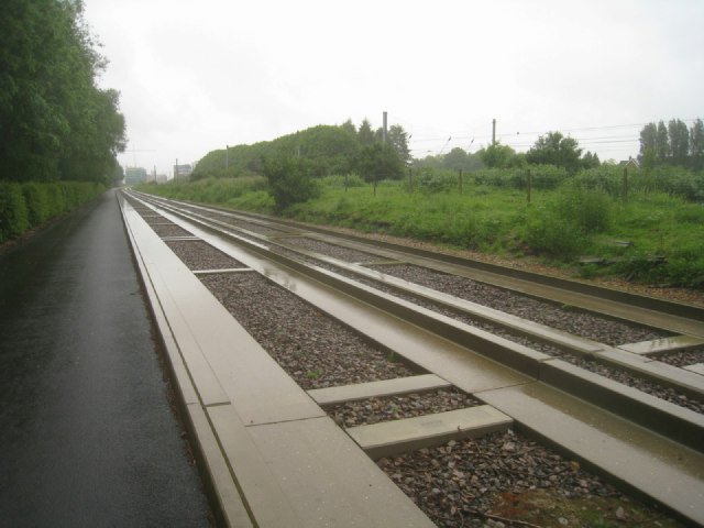 Grey day on the busway